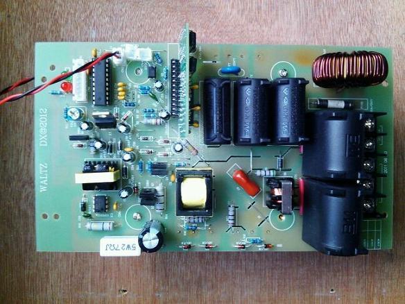 储水式磁能热水器电路板图片