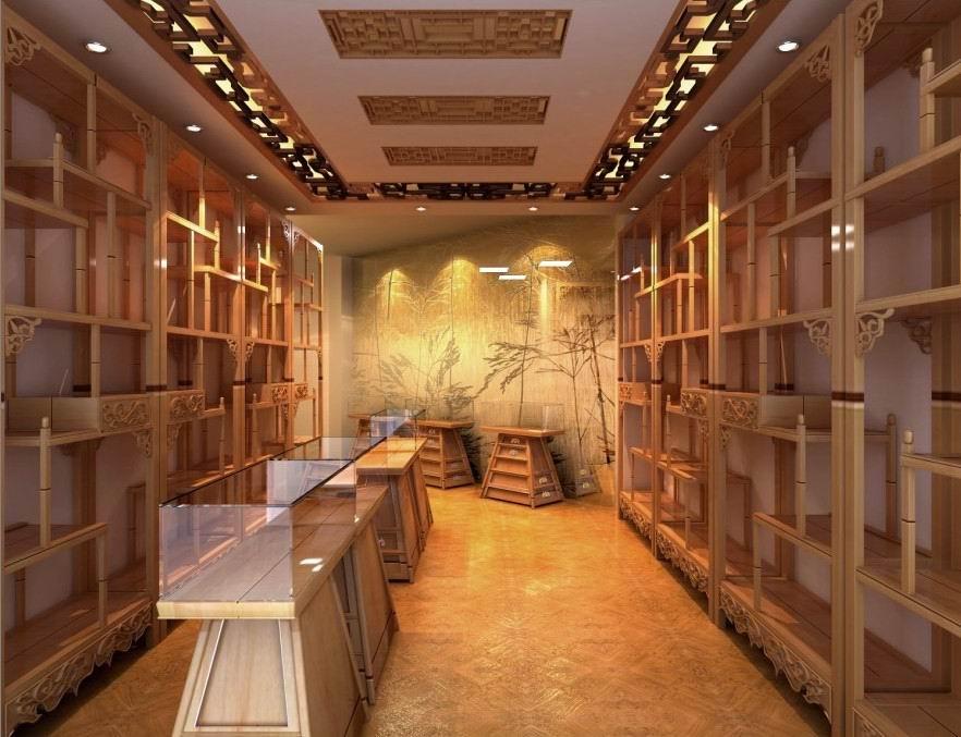 实木家居珠宝展柜,珠宝展示柜,珠宝展柜制作,珠宝展柜设计,完全的实木