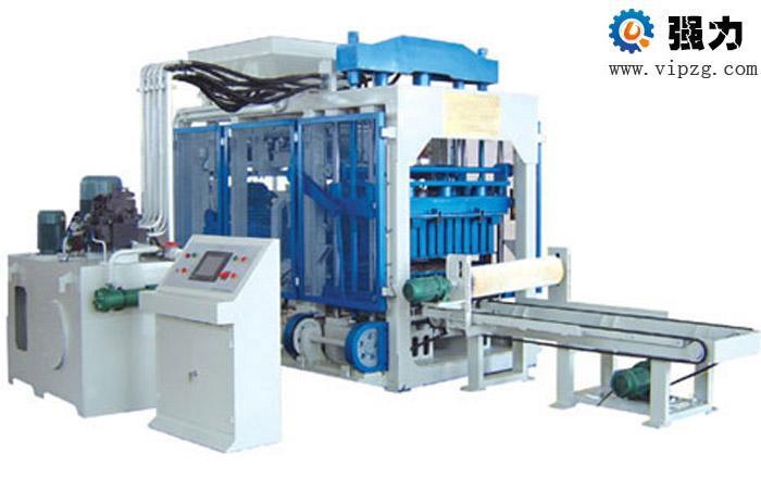 河南强力路桥砌块砖机设备维护常识最专业