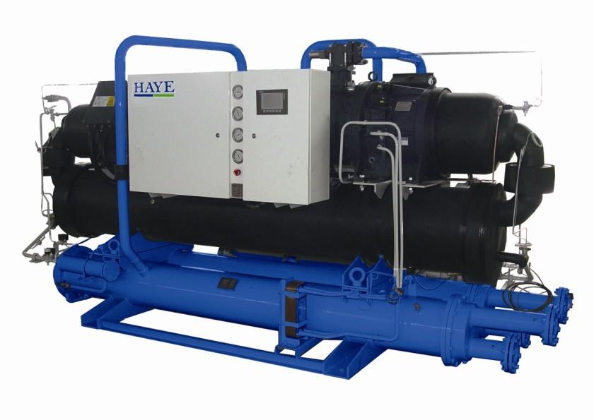 挤出机专用冷水机:水冷螺杆低温冷水机组产品大图