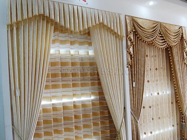 酒店客房窗帘设计制作北京张氏布艺高清图片 高清大图