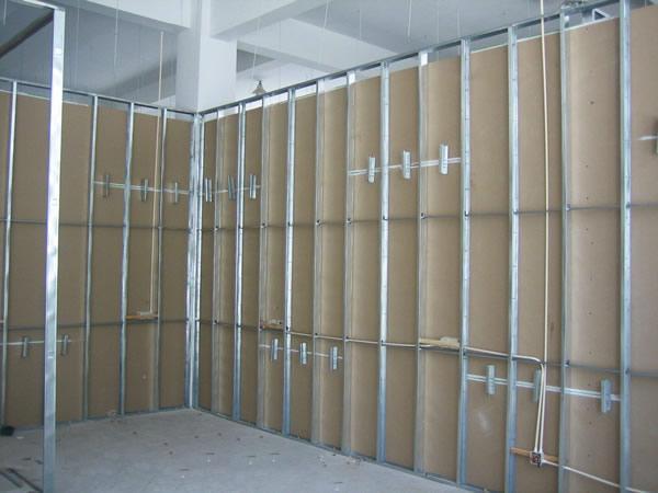 上海隔墙装修,轻钢龙骨隔墙供应