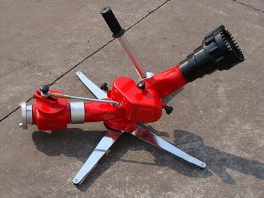 移动式水力自摆消防水炮产品大图