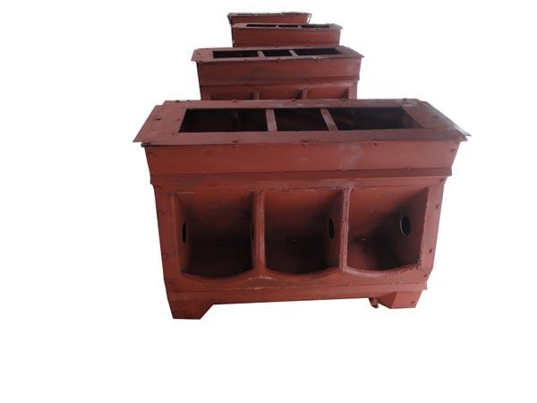 猪自动料槽模具 猪用料槽模具 自动猪料槽-高科高清图片 高清大图