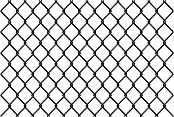 黑白圆形网状贴图