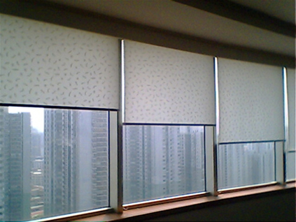 工程窗帘效果图