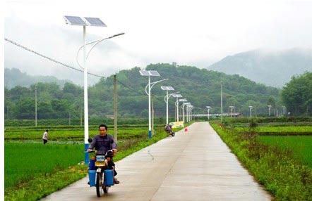 11,太阳能路灯是一个自动控制的工作系统,只要设定该系统的工作模式