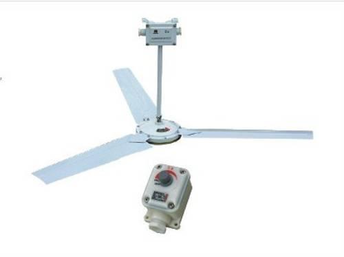 二,产品特点  防爆吊扇由防爆电机,扇叶,接线盒,防爆调速器等部分