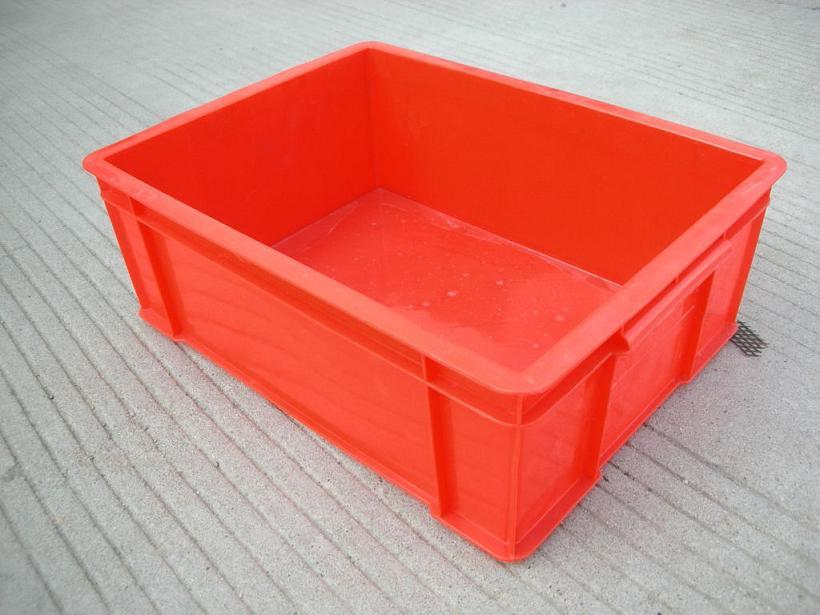 供应辽宁塑料物流箱各种规格尺寸塑料周转箱上海塑料
