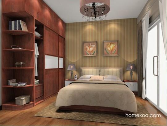 北欧风格定制卧室家具a15232产品大图