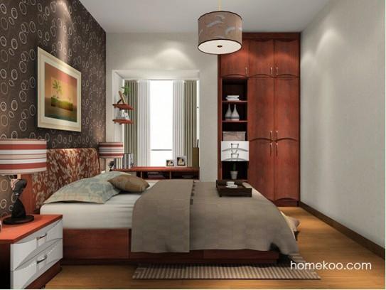 北欧风格定制卧室家具a15355产品大图