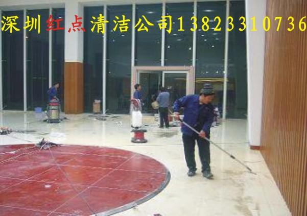 提供工厂工业园学校装修后清洁保洁服务,深圳红点开荒清洁公司