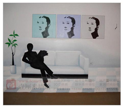 店面手绘墙,特色小吃店墙绘,特色餐厅手绘墙,旅行社手绘,汗蒸房壁画