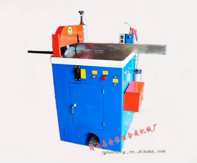 •该机型适用于铝,铜及塑料,碳金,纸筒等非铁金属的锯切;&