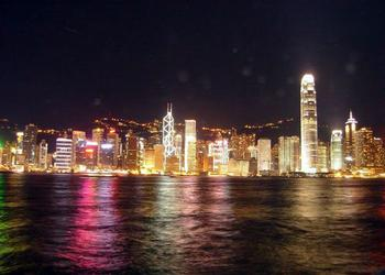 重庆莲花半岛夜景