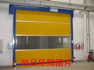 徐州地下车库自动卷帘门工业厂房门柔性大门高速堆积门
