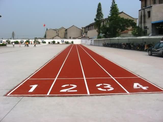 幼儿园运动场地跑道高清大图