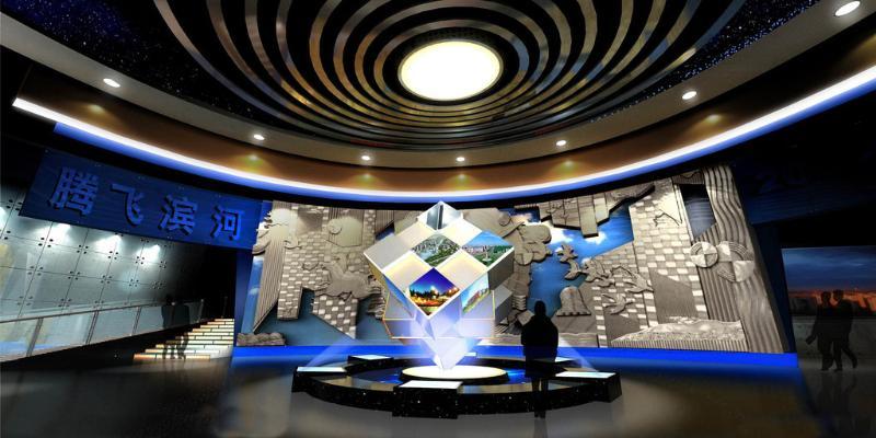 济南展厅工程制作专业-济南娃哈哈乳酸菌产品包装设计说明道和展览展示施工图片