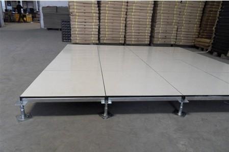 高架防静电地板 钢地板 深圳防静电地板图片
