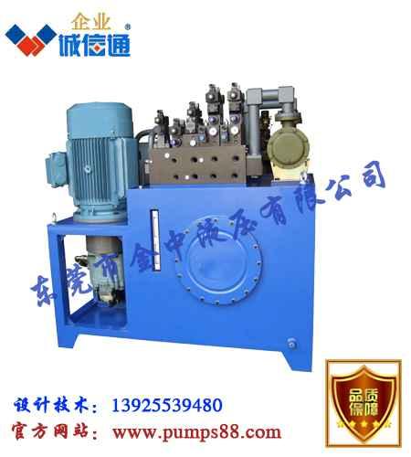 压力机液压系统设计,液压系统定做图片
