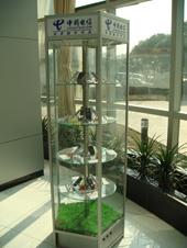 电信展示柜  手机旋转展示柜  手机展柜  电信专用展柜