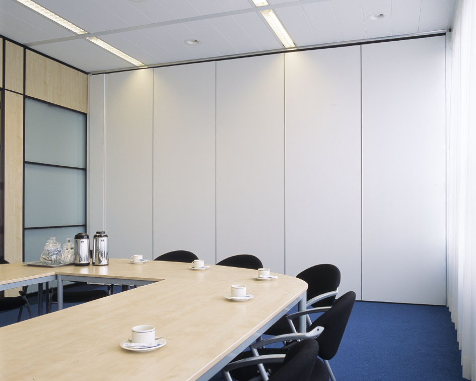 办公室活动隔断展开效果图高清大图