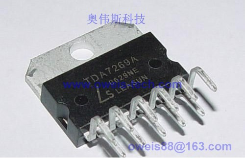 专业供应tda7269 st电源放大器ic; tda7269a
