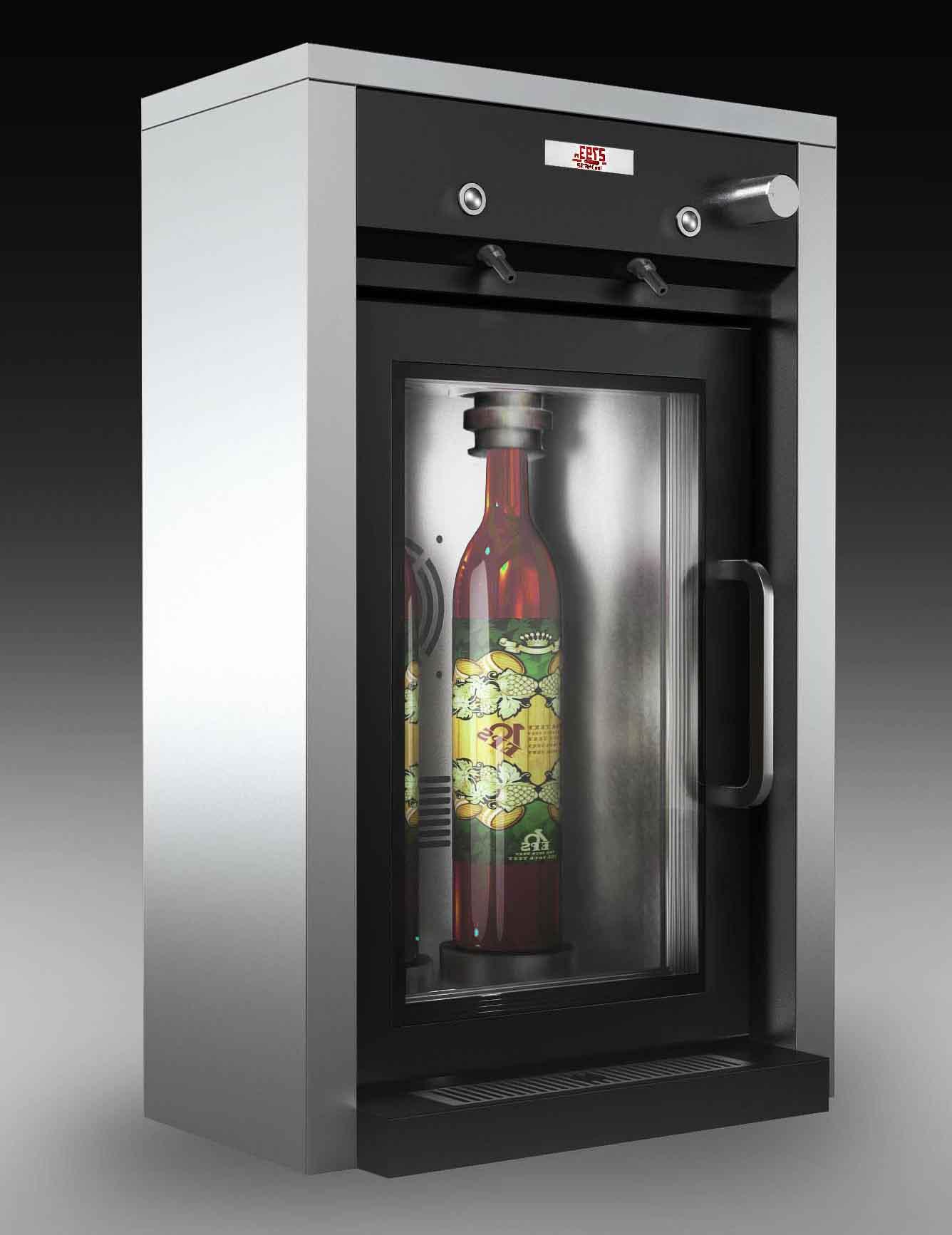家庭专用电子制冷两只装红酒分酒机产品大图