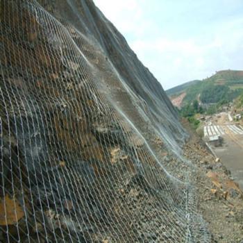 抗拉强度大的边坡防护网配套图片