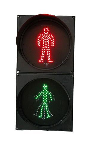 安赢生产动态人行灯/交通信号灯/led道路红绿灯广州供应高清图片 高
