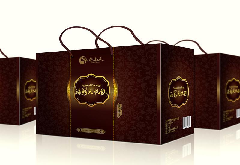 [合作]宁波海鲜包装设计,海产品礼品盒设计,大礼包设计