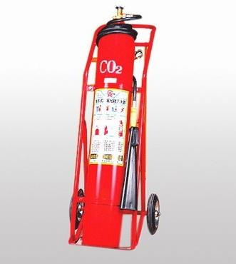 推车式二氧化碳灭火器价格咨询高清图片