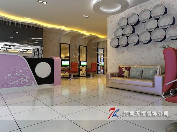 郑州理发店装修设计公司 郑州专业美发店装修设计公司
