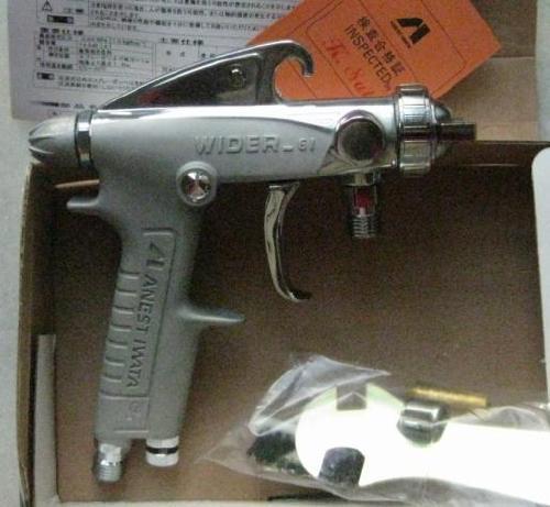 代理原装日本岩田W-61油漆喷枪*岩田手动喷漆枪