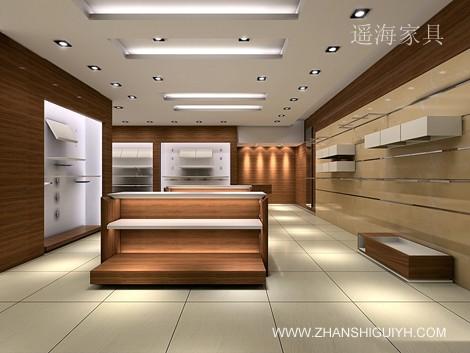 宁波富利商业道具展览展示柜台制作厂家(专业生产:商业展; 服装展示