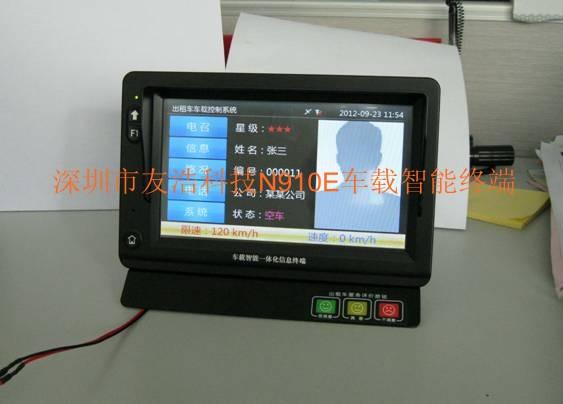 出租车智能车载gps监控调度导航终端产品大图