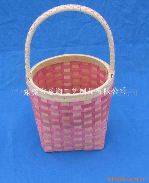 竹筐的编织方法图解