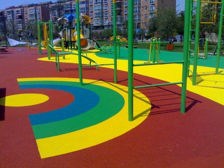 潍坊幼儿园安全地坪 PVC塑胶地板 塑胶地板材料高清图片 高清大图
