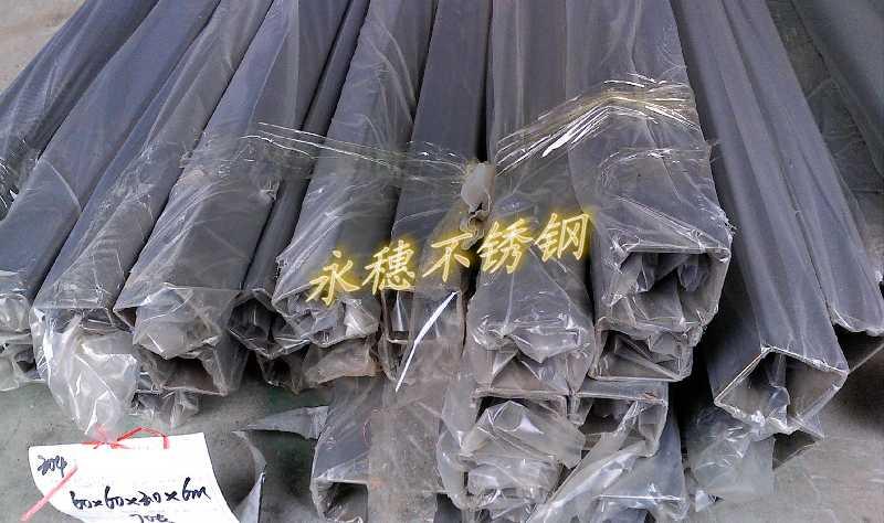 特价直销304不锈钢方钢48 48规格 永安市防护栏用不锈钢管高清图片 高清大图