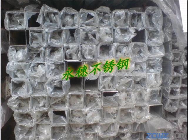 最便宜价格304不锈钢方钢6 6规格 将乐县柜台用不锈钢方管高清图片 高清大图