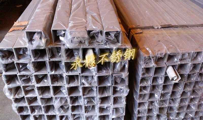 低价优质304不锈钢方钢10 10规格 永定县防盗用不锈钢管高清图片 高清大图
