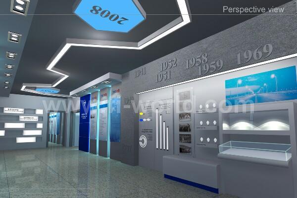 熊猫照明展厅设计效果图-未来印象展厅设计公司产品