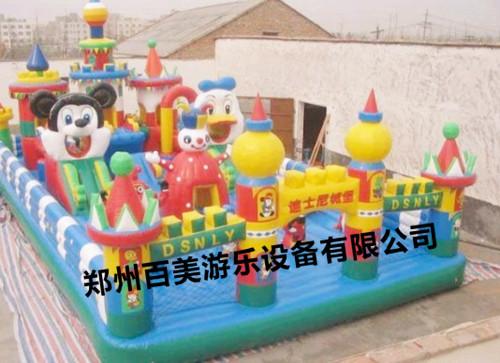山西/承德迪士尼乐园充气城堡厂家直销/最新款迪士尼乐园批发产品大图...
