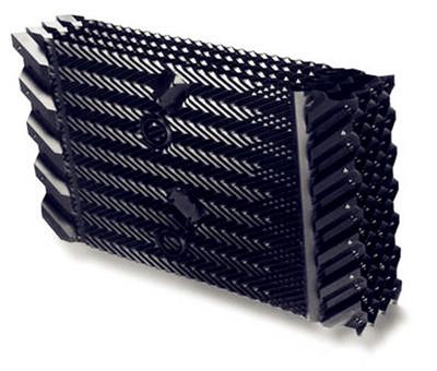 中央空调循环水冷却塔填料,冷却塔散热胶片,冷却塔淋水片,pvc淋水片
