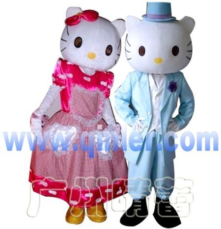 价格库 服装,服饰 婚纱,礼服 >> kitty猫卡通人偶服装晴蕾庆典卡通