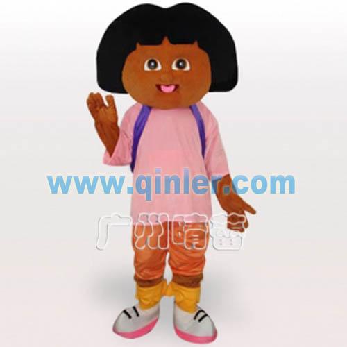 朵拉卡通人偶行走服装晴蕾卡通人物服装卡通道具服装
