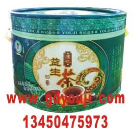 精美大绿桶有记益生茶 配套图片