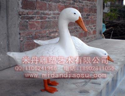 鸭子模型 蝗虫模型 生物模型 动物雕塑模型
