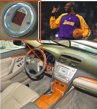 汽车指纹识别系统