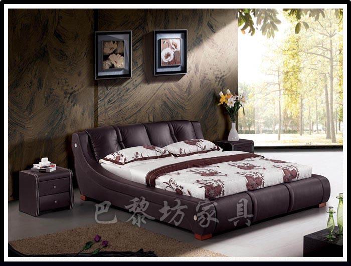 真皮软床 欧式软床 皮艺软床 榻榻米床 布艺软床 品牌